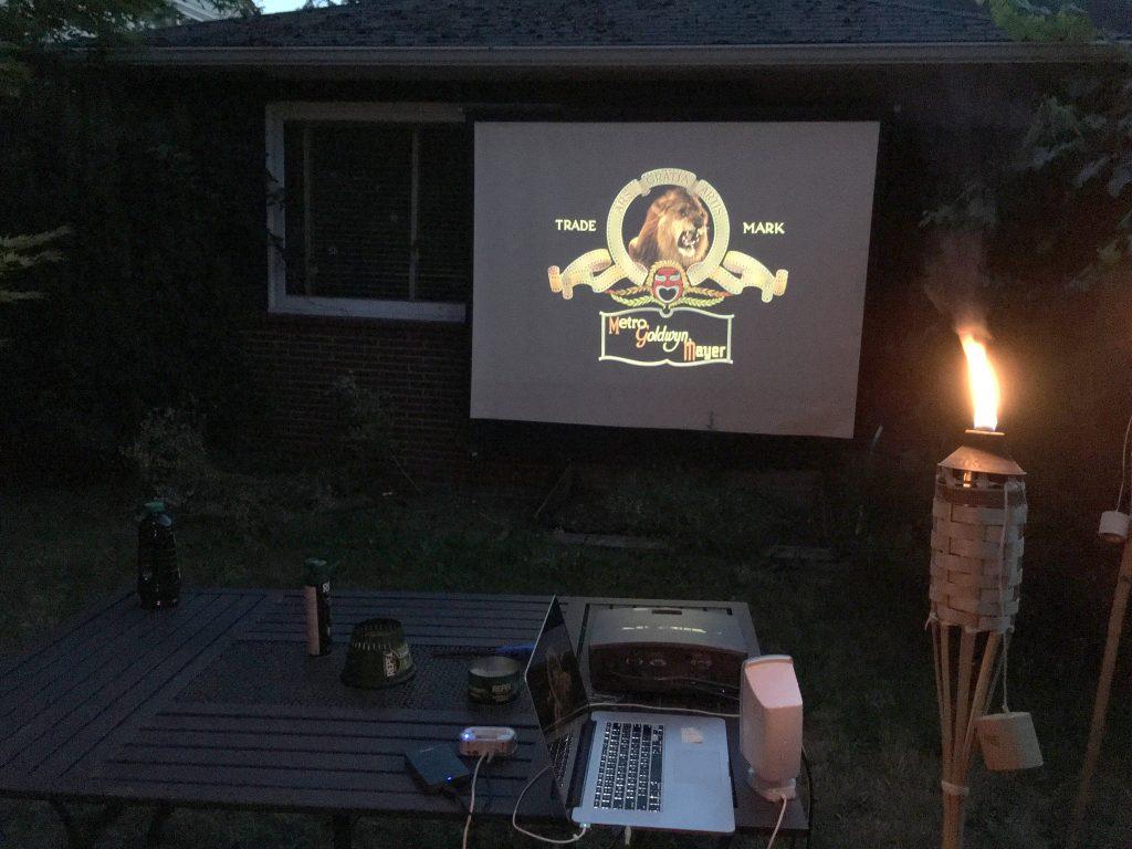 Film Church Outdoor Screen